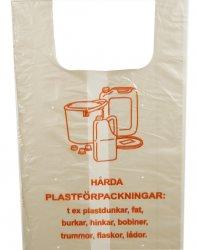 Plastsäck transparent RETURPLAST