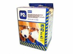 Dammfiltermask vikbar/ventil FFP2
