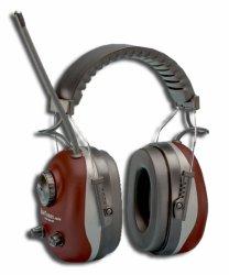 Elvex Hörselkåpa Radio Röd