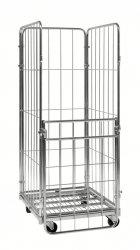 Rullcontainer 3 väggar+grind