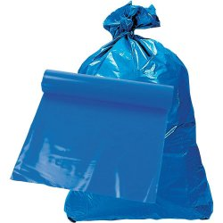 Plastsäck blå Robust LDPE